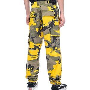 Rothco Pants - Rothco BDU Stinger Yellow Camo Cargo Pants